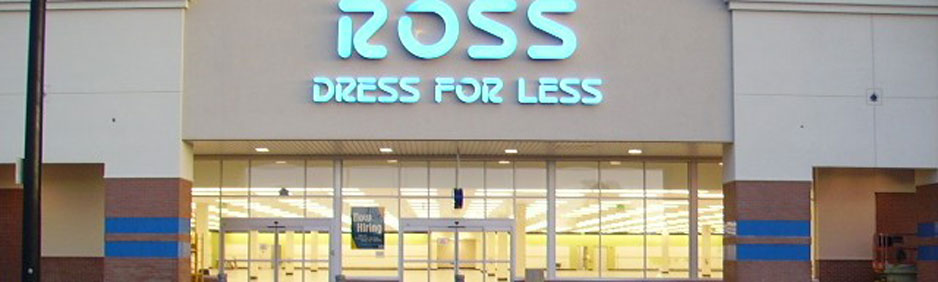 Ross Dress for Less on Retail Building